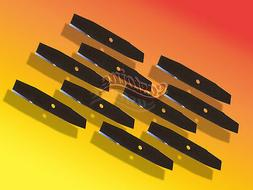 10 McLane 2059 Edger Blades10X1/2 Sharpened 4 Sides, MADE IN