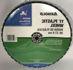 """Arnold 11"""" X 1.75"""" Plastic Wheel for Lawn Mowers"""