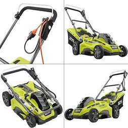 16 in. 13 amp corded electric walk behind push mower | ryobi