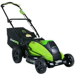 Greenworks 19-Inch 40V Cordless Lawn Mower, Battery Not Incl