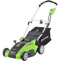 Greenworks 2 in 1 electric lawn mowers