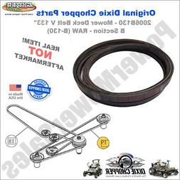 2006B130R Dixie Chopper Belt  for Lawn Mowers