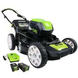 Greenworks 2500402 80V Cordless Lithium-Ion 21 in. 3-in-1 La