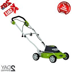 Greenworks 25012 12 Amp 18 inches 7-Position 3-in-1 Corded E
