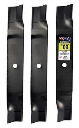 "MaxPower 561554  Blade Set for 60"" Cut MTD, Cub Cadet, and T"