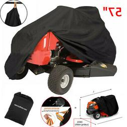 """57"""" 190T Riding Lawn Mower Tractor Cover Waterproof Garden O"""