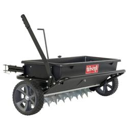 Agri-Fab 100 LB. Tow-Behind Spike Aerator/Drop Spreader