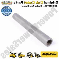 """Cub Cadet Caster Axle Spacer .51"""" x .75"""" x 5.8"""" for MT"""
