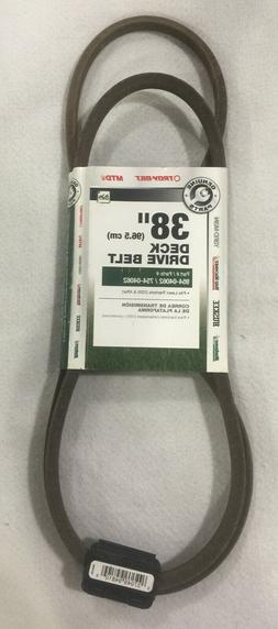 MTD Genuine Factory Parts 38 in. Deck Belt for MTD Lawn Trac