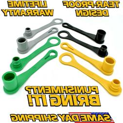 JOHN DEERE SET OF EIGHT COLOR CODED HYDRAULIC CAPS MALE & FE