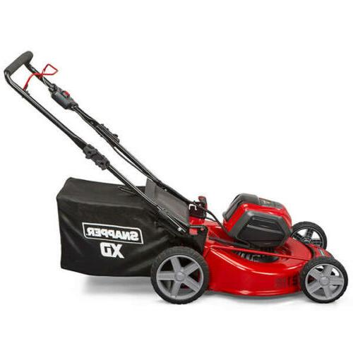 Lithium-Ion in. Mower with Ah Battery & Charger