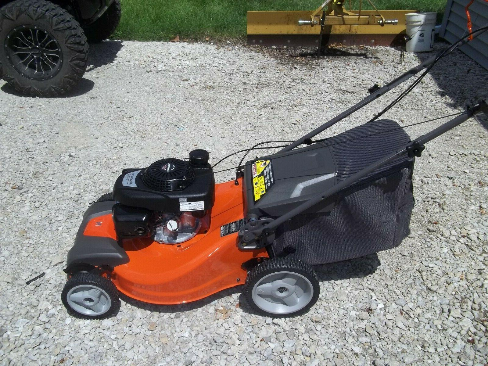 Husqvarna 3-in-1 Gas Self Lawn Mower With Engine