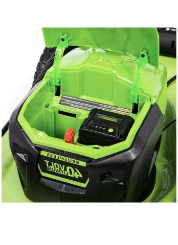 Self-Propelled Mower Battery&Charger