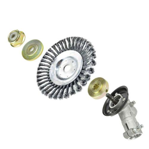 3Pcs Set of Reel for Lawn Iron Mower Fixing Lower Piece