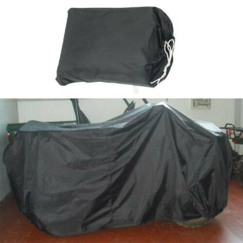 """57"""" Riding Mower Tractor Cover Garden Outside Yard Black"""