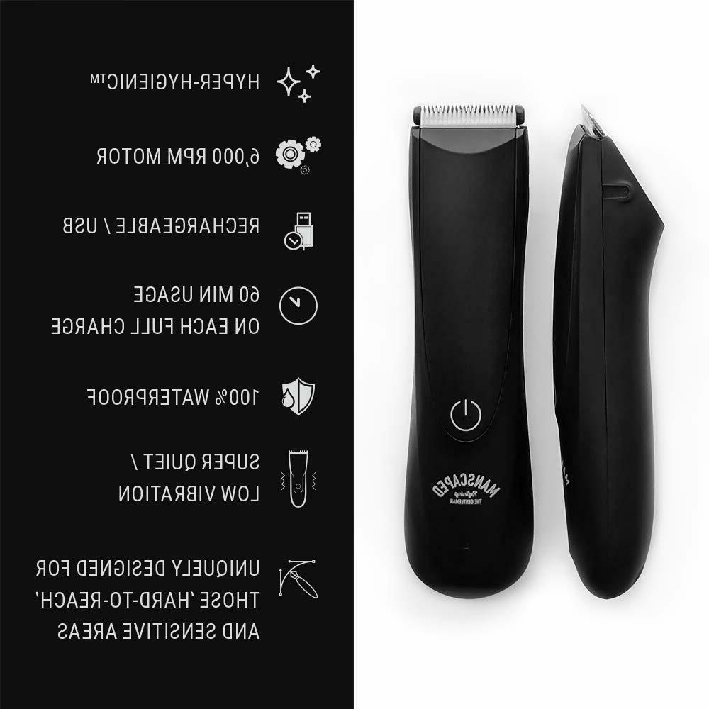 Best Electric Manscaping Groin Hair Trimmer, Lawn Mower 2.0