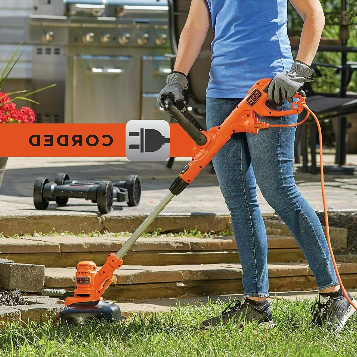 Black & Decker 12 in. 3-in-1 Compact Electric Lawn Mower BES