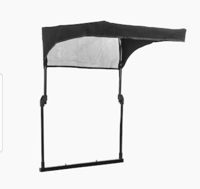 Arnold Collapsible Sun Shade for Riding Mowers Canopy Universal Rider
