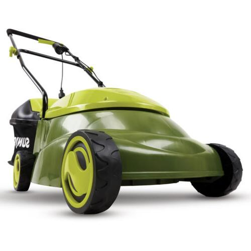 electric lawn mower 14 inch 12 amp