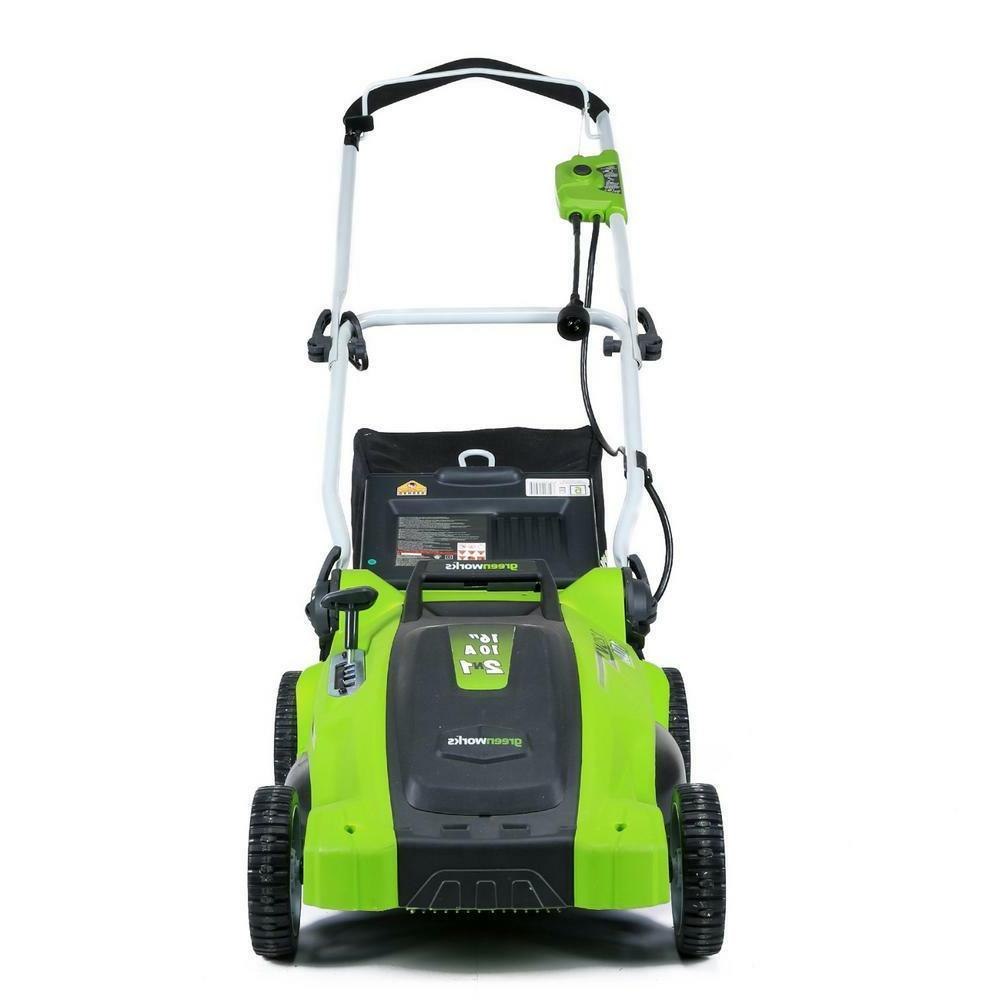 Electric Lawn Push Grass Mowing