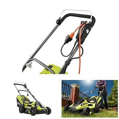 Electric Corded Behind Push Grass Cutter Care