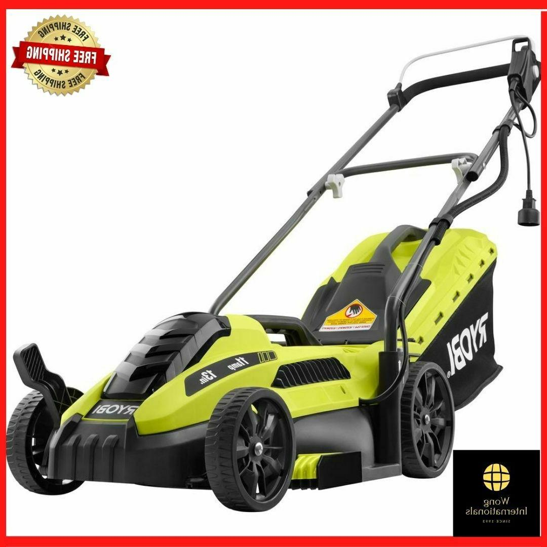 electric lawn mower push walk behind corded