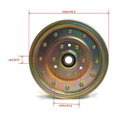 """Flat Pulley 2008 Z450 - with 52"""""""