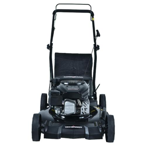 Gas Lawn Mower in Walk Behind Push Garden Grass
