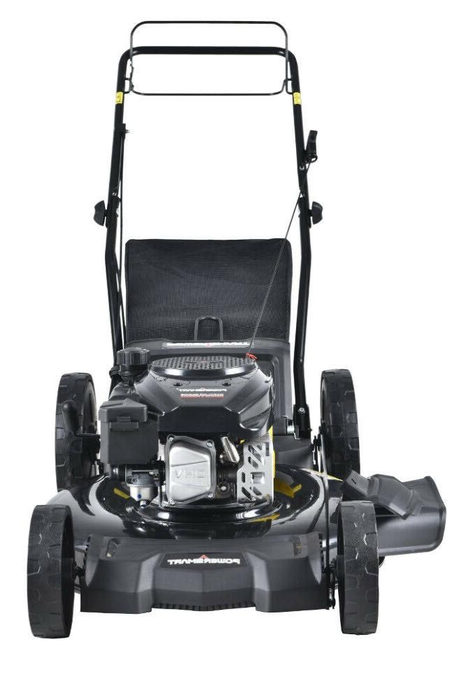 LAWN MOWER 170cc 3-in-1 Powered Self Propelled Height