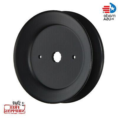 POULAN PRO LAWN MOWER PARTS SPINDLE ASSEMBLY PULLEY PULLY CR