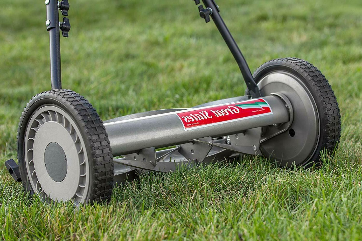 """Mower With Easy Use Precise 18"""" Cutting Width"""
