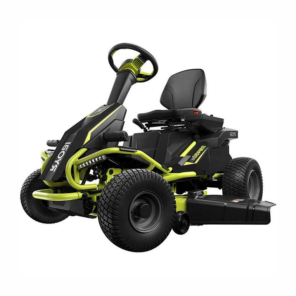 rm480e 75ah battery powered electric riding mower