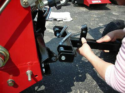 Sulky Lift Latch Convert Riding Mower Durable