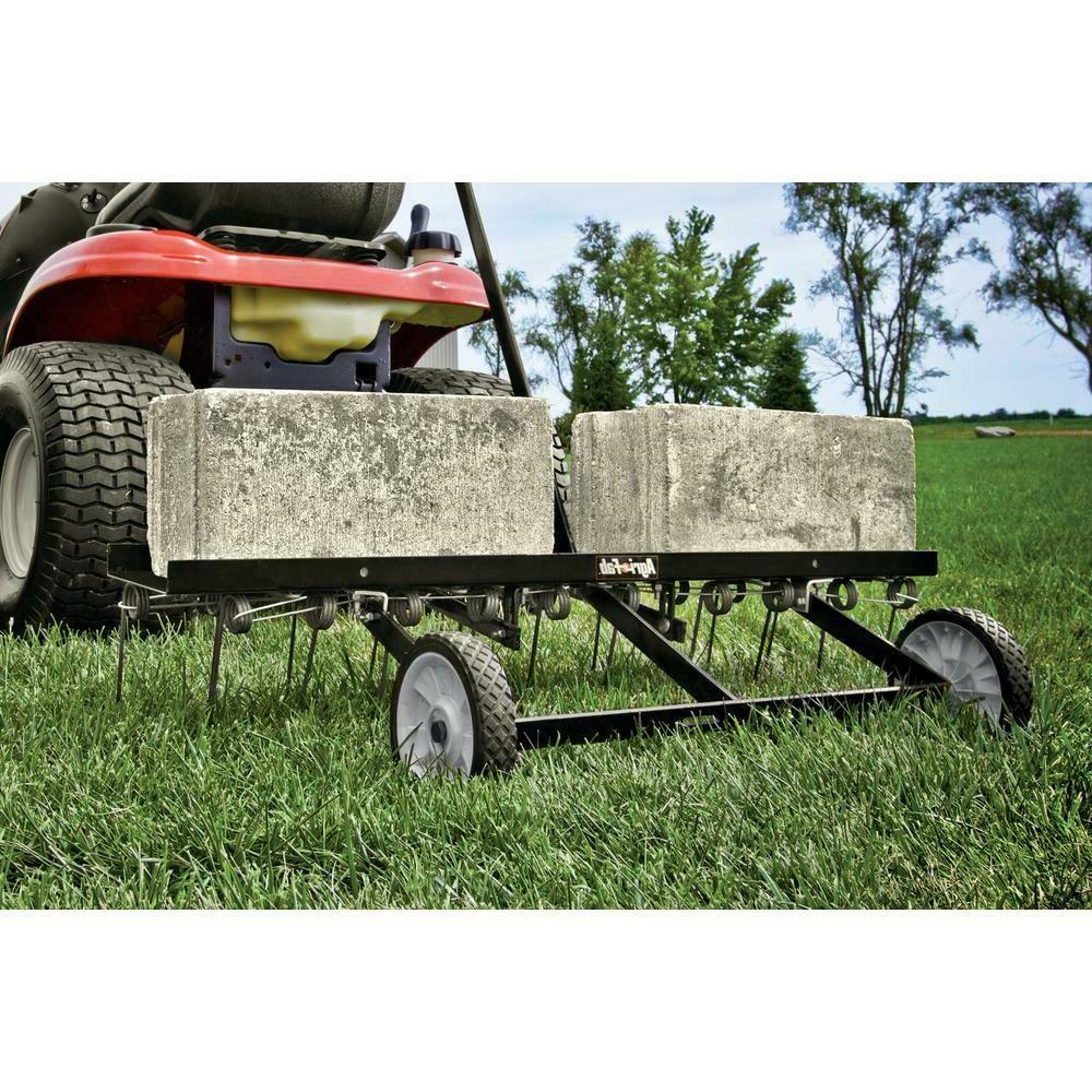 Tow Lawn Dethatcher 40 Inch Handle Universal