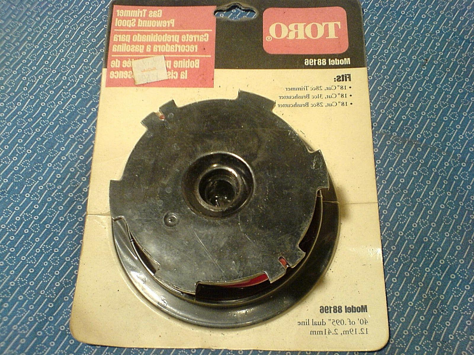 trimmer replacement spool for 18 gas powered