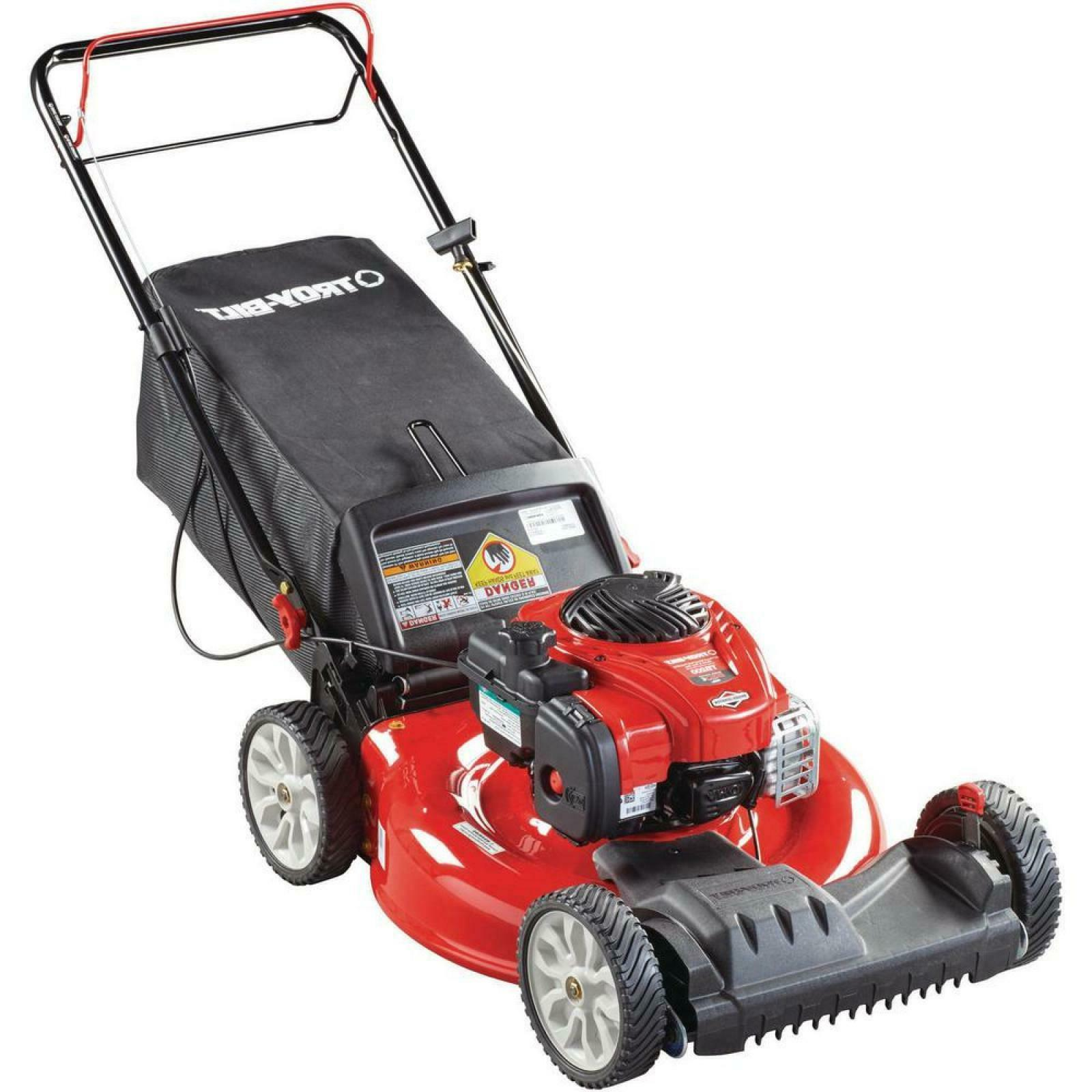 Troy Self Propelled Lawn Mower in 140cc Action