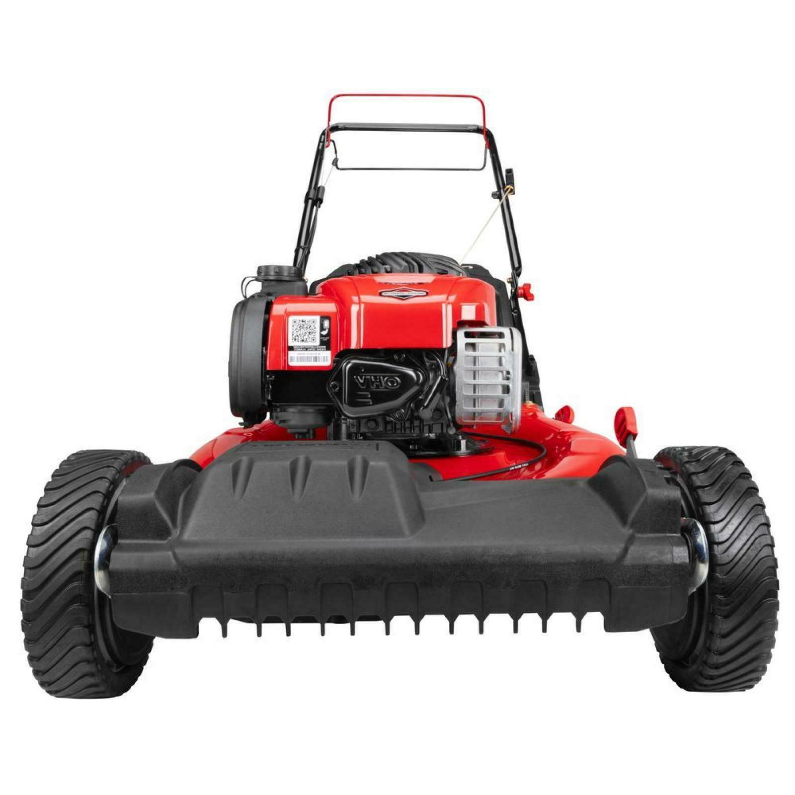 Troy Self Lawn 140cc Gas Powered Action