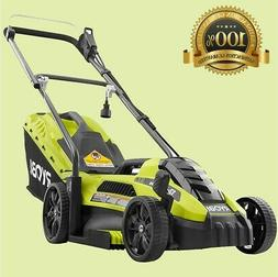 Lawn Mower Corded Electric Walk Behind Push Grass Cutter 11