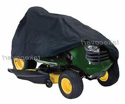 Lawn Tractor Mower Cover Weather UV Protection H-1 fits up t