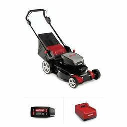 Oregon LM400 Lawn Mower With 6.0 Ah Battery & Rapid Charger