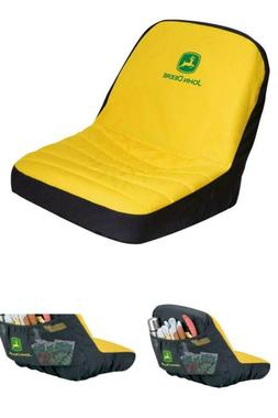 Mower Seat Cover Lawn Riding Tractor Protector Garden Backre