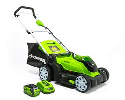 NIB Greenworks G-MAX 40V 17 in. Cordless Lawn Mower with 4Ah