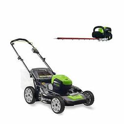 Greenworks PRO 21-Inch 80V Cordless Lawn Mower with PRO 26-I