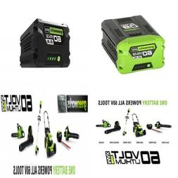 GreenWorks Pro 60-Volt Max 2.5-Amp Hours Rechargeable Lithiu