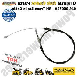 Cub Cadet RH Transmission Brake Cable for Lawn Mowers & Othe
