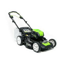Greenworks PRO 21-Inch 80V Self-Propelled Cordless Lawn Mowe