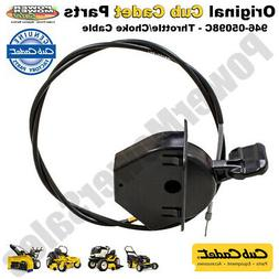Cub Cadet Throttle/Choke Cable  for Lawn Tractors / 946-0509